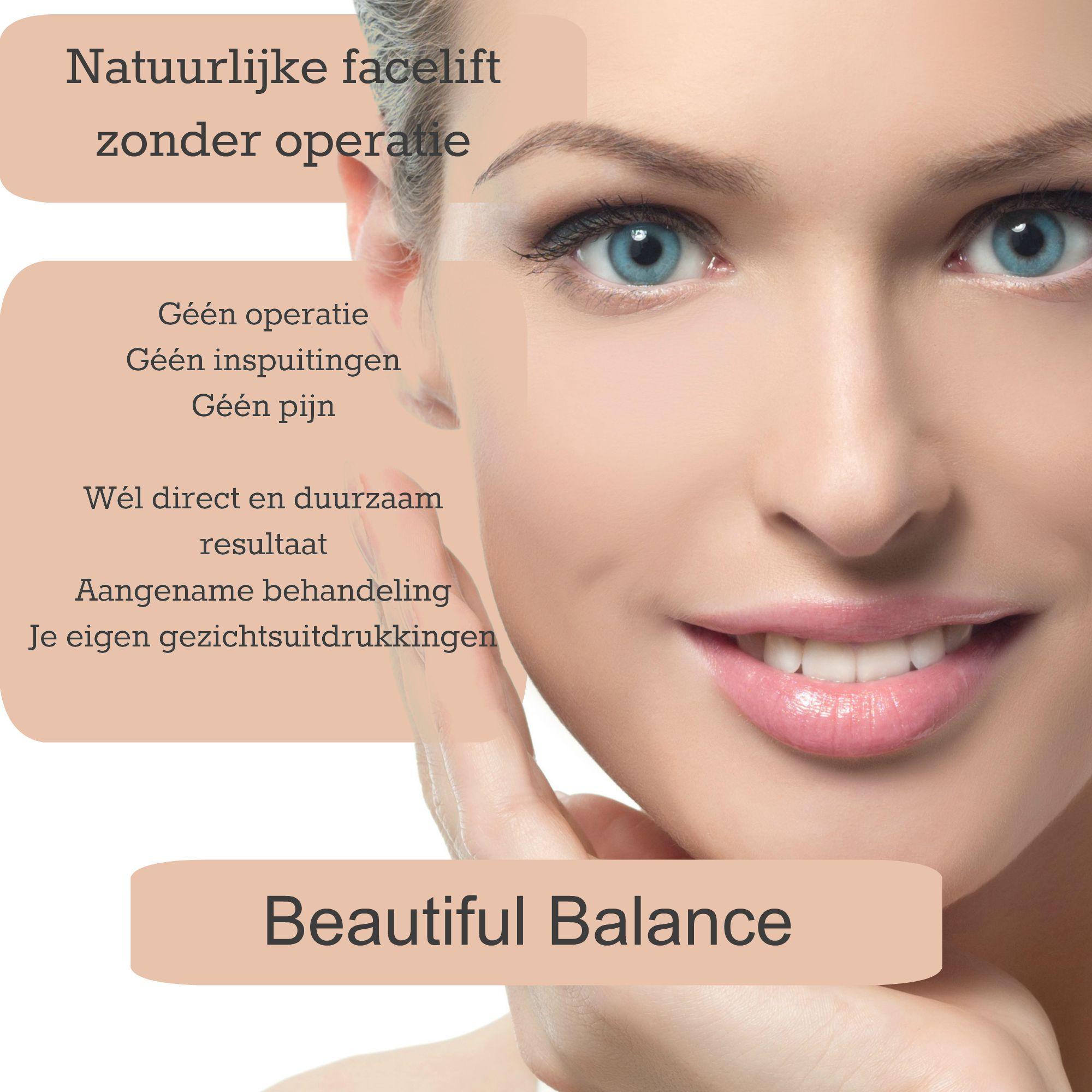 natuurlijke facelift zonder operatie