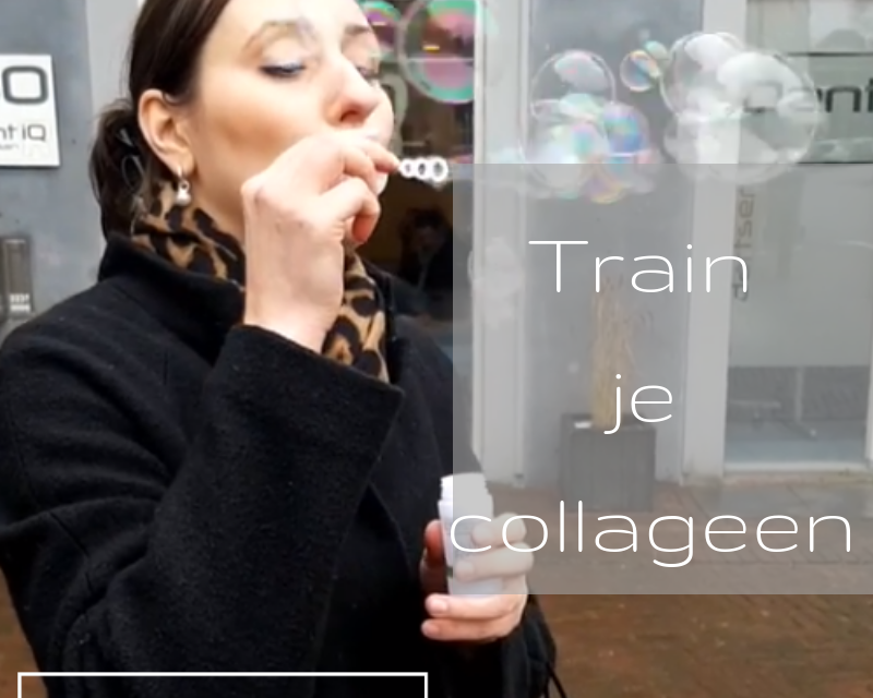Train je collageen
