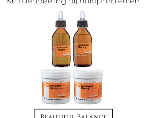 Kruidenpeeling bij huidproblemen