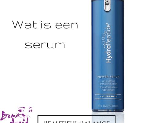 Wat is een serum