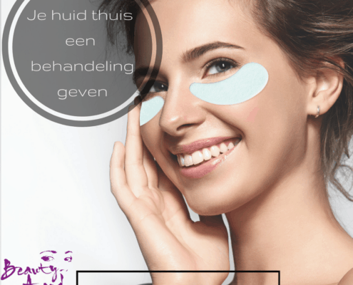 Je huid thuis een behandeling geven