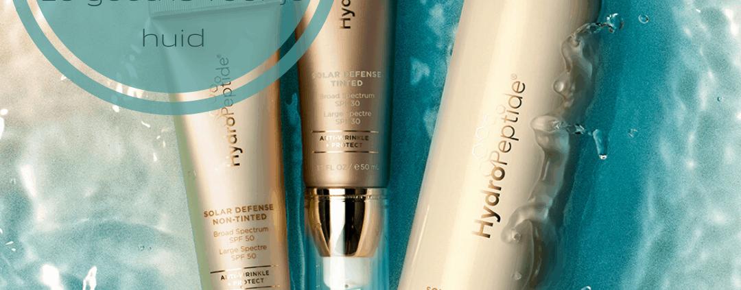 Waarom een zonnecrème (SPF) zo goed is voor je huid
